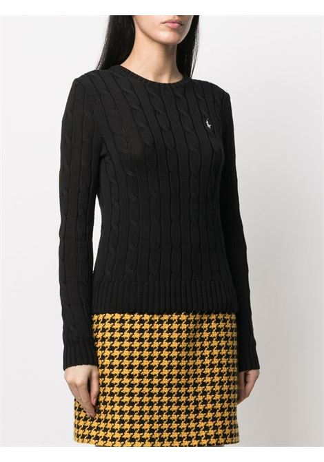 Pullover nero POLO RALPH LAUREN | PULLOVER | 211580009046