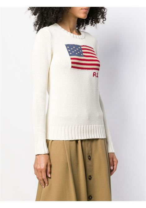 Pullover bianco POLO RALPH LAUREN | PULLOVER | 211662510002