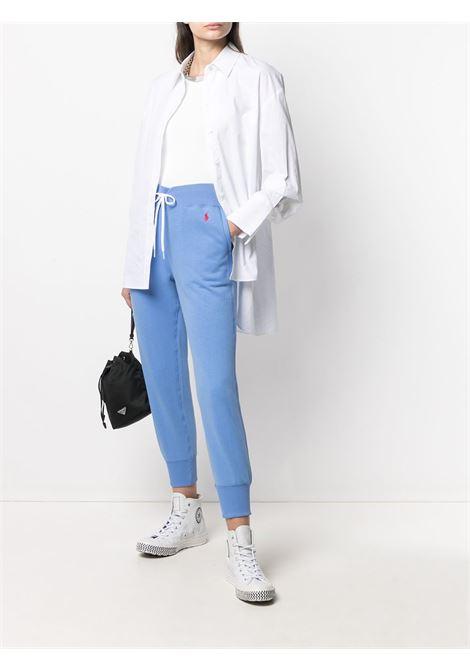 Pantaloni blu POLO RALPH LAUREN | PANTALONI | 211780215010
