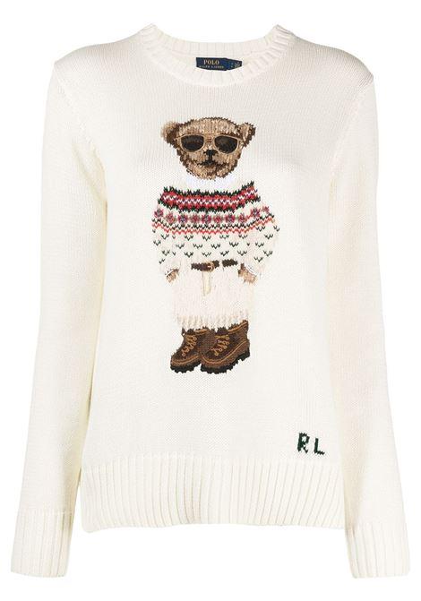 Pullover bianco POLO RALPH LAUREN | 211827358001