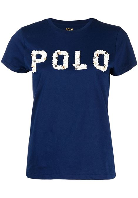 T-shirt blu POLO RALPH LAUREN | T-SHIRT | 211827661002