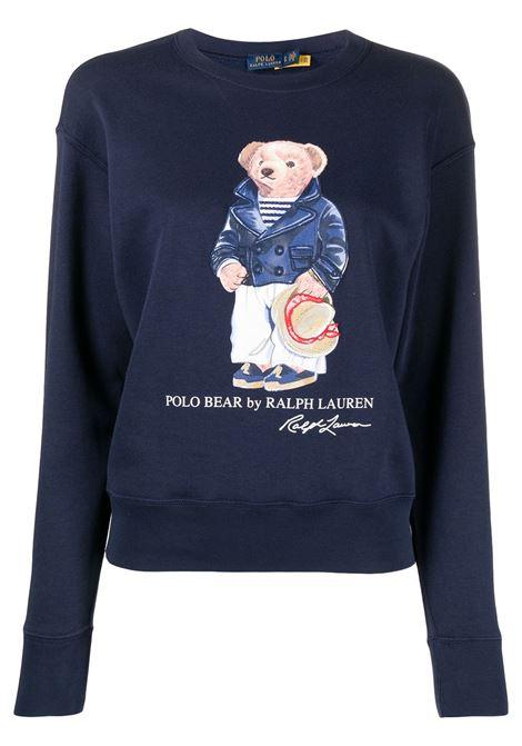 Maglione blu POLO RALPH LAUREN | MAGLIE | 211827921001