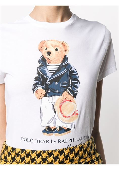T-shirt bianca POLO RALPH LAUREN | T-SHIRT | 211827926001