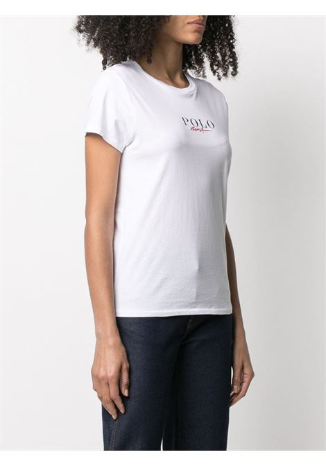T-shirt bianca POLO RALPH LAUREN | T-SHIRT | 211838118001