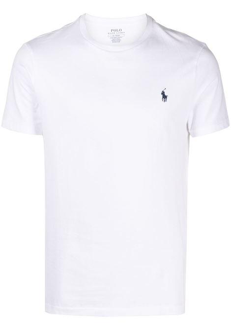 T-shirt bianca POLO RALPH LAUREN | 710680785003