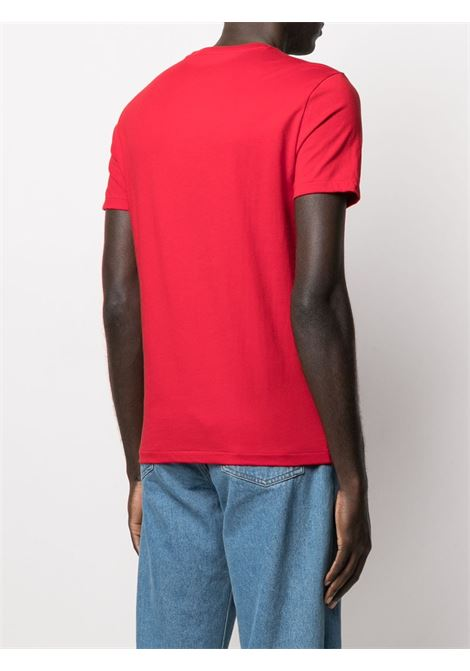 T-shirt rossa POLO RALPH LAUREN | T-SHIRT | 710680785008