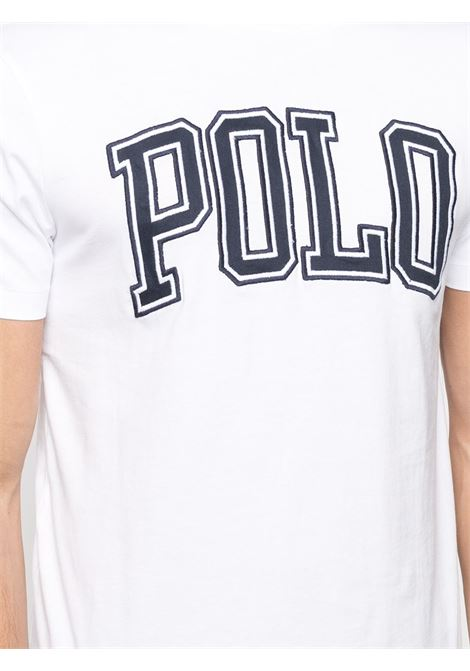 T-shirt bianca POLO RALPH LAUREN | T-SHIRT | 710840424002