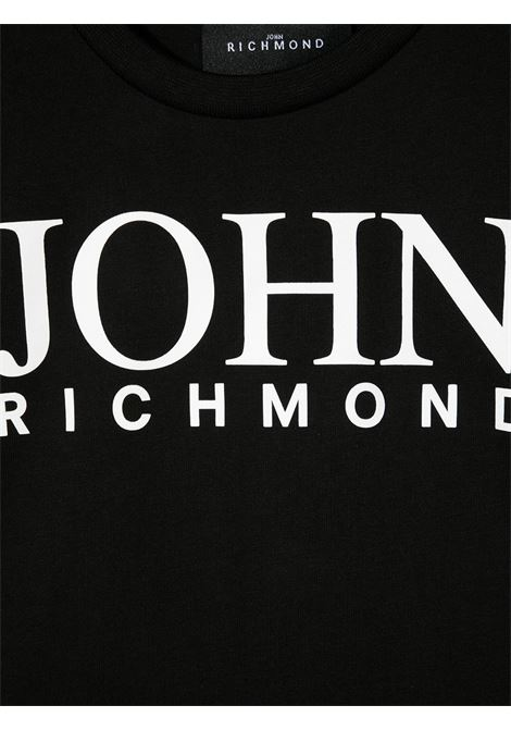 T-shirt RICHMOND KIDS   T-SHIRT   RBP21020TSG9BLACKWHT