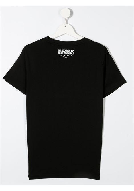 T-shirt RICHMOND KIDS   T-SHIRT   RBP21020TSG9TBLACKWHT