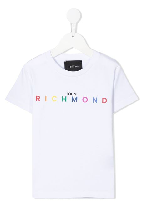 T-shirt RICHMOND KIDS   T-SHIRT   RBP21021TSG9WHITE