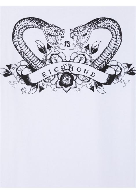 T-shirt RICHMOND KIDS   T-SHIRT   RBP21024TST6TWHITE