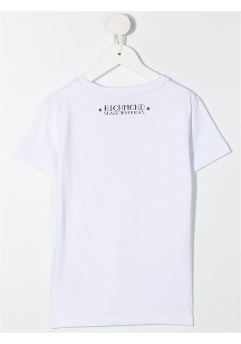 T-shirt RICHMOND KIDS   T-SHIRT   RBP21024TST6WHITE