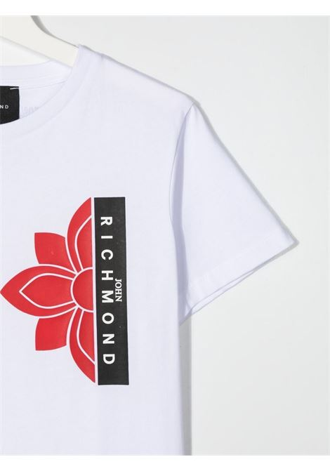 T-shirt RICHMOND KIDS   T-SHIRT   RBP21044TST6TWHITE