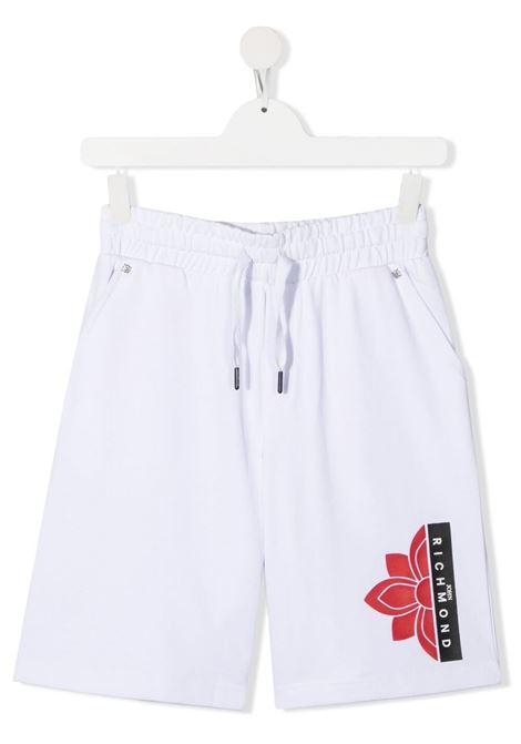 Shorts RICHMOND KIDS | SHORTS | RBP21116BET6TWHITE