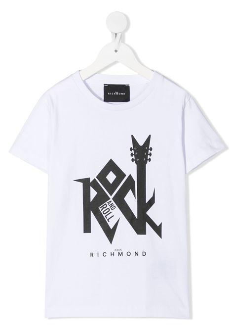 T-shirt RICHMOND KIDS | T-SHIRT | RBP21133TST6WHITE