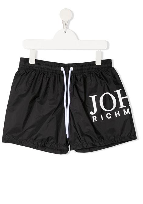 Costume RICHMOND KIDS | BOXER DA MARE | RBP21159COPVTBLACKWHT