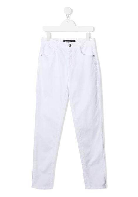 Pantalone RICHMOND KIDS | PANTALONI | RGP21197PASHTWHITE