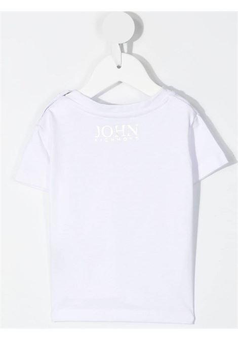T-shirt bianca RICHMOND KIDS | T-SHIRT | RIP21023TSPOBWHITE