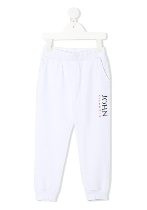 Pantalone bianco RICHMOND KIDS | PANTALONI | RIP21042PALSBWHITE