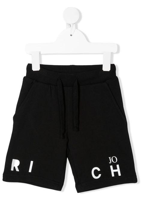 Shorts nero RICHMOND KIDS | BERMUDA | RIP21064BELSBBLACKWHT