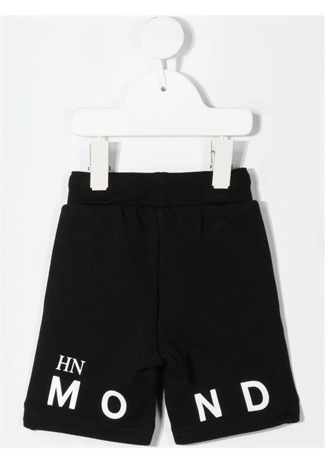 Shorts nero RICHMOND KIDS | BERMUDA | RIP21064BELSBLACKWHT