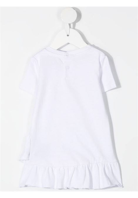 White dress RICHMOND KIDS | DRESS | RIP21133VELSBWHITE