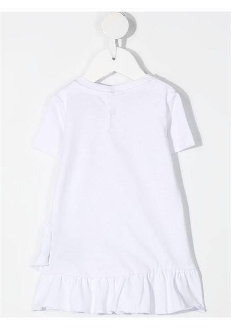 White dress RICHMOND KIDS | DRESS | RIP21133VELSWHITE