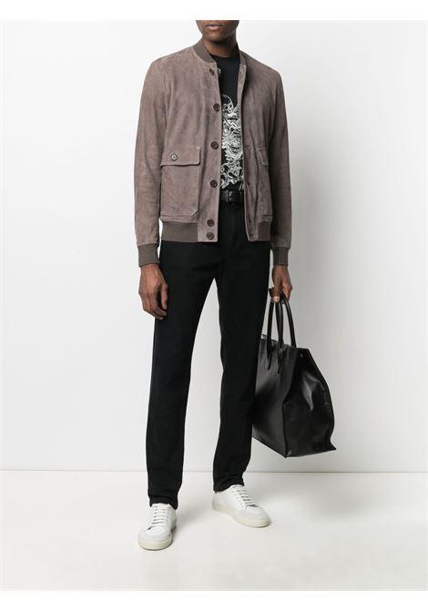 Brown jacket SALVATORE SANTORO | JACKETS | 40513UCAMASH