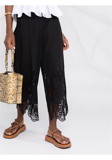 Pantaloni neri SEE BY CHLOE' | PANTALONI | CHS21UPA01025001