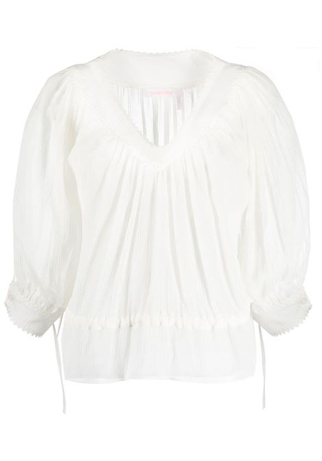 Maglia bianca SEE BY CHLOE' | MAGLIE | S21SHT12031106