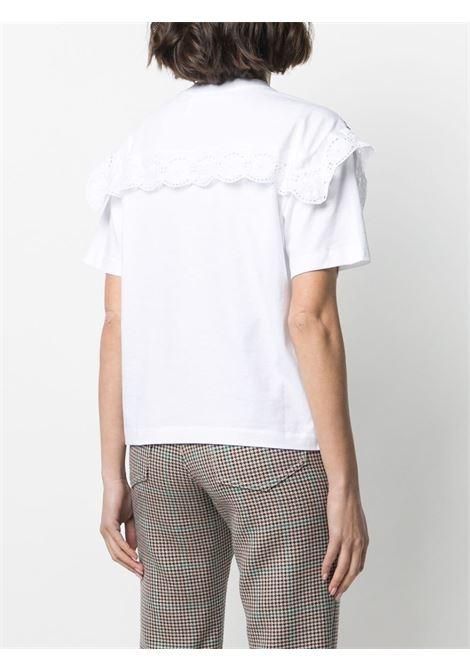 T-shirt bianca SEE BY CHLOE' | T-SHIRT | S21SJH42081109