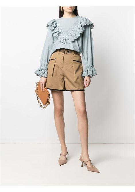 Shorts SELF PORTRAIT | SHORTS | SS21015SAND