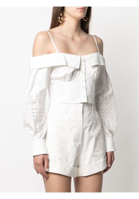 Blusa bianca SELF PORTRAIT | BLUSE | SS21071WWHITE