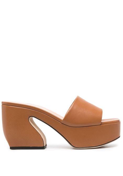 Brown mules SI ROSSI | SABOT | A93760MNAT111102250