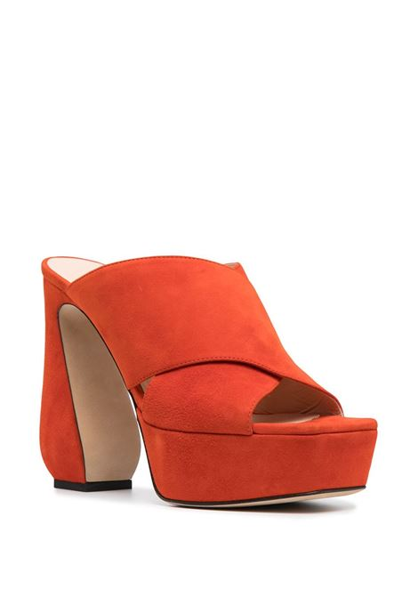 Sandali arancio SI ROSSI | SANDALI | A93770MCAM331116314