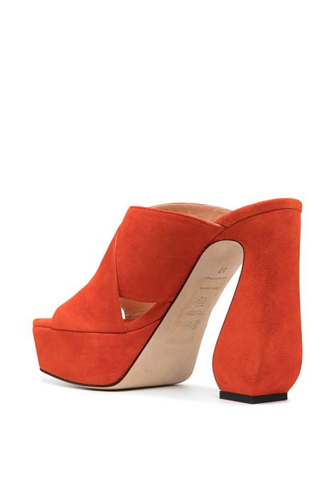 Orange Sandals SI ROSSI | SANDALS | A93770MCAM331116314