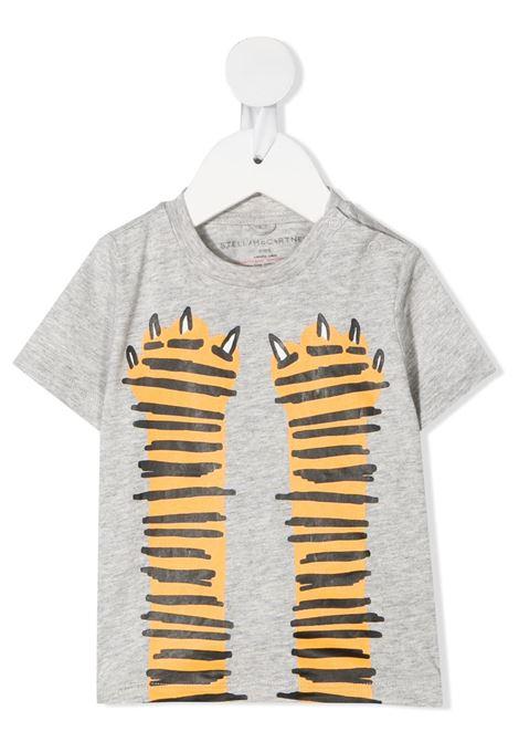 T-shirt grigia STELLA Mc.CARTNEY KIDS | T-SHIRT | 602270SQJ191461