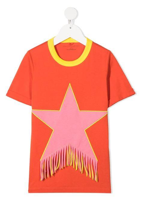 T-shirt rossa STELLA Mc.CARTNEY KIDS | ABITI | 602620SQJD66561