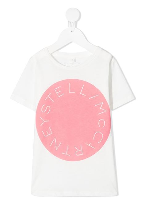 T-shirt bianca STELLA Mc.CARTNEY KIDS | T-SHIRT | 602648SQJF79000