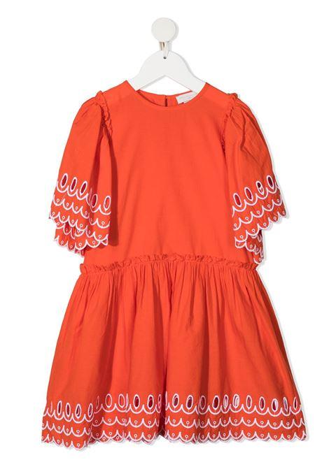 Abito arancio STELLA Mc.CARTNEY KIDS | ABITI | 602783SQK796561