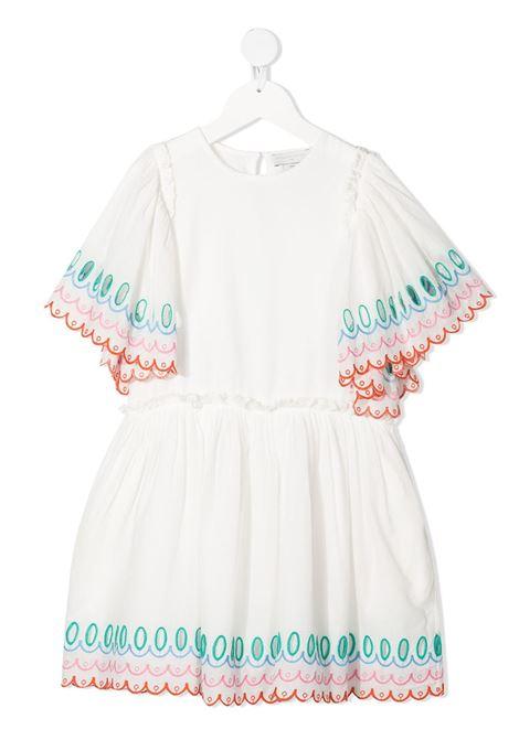 White dress STELLA Mc.CARTNEY KIDS | DRESS | 602783SQKB09100