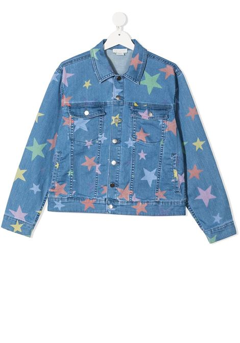 Giacca blu STELLA Mc.CARTNEY KIDS | GIACCHE | 602792TSQKB7H407