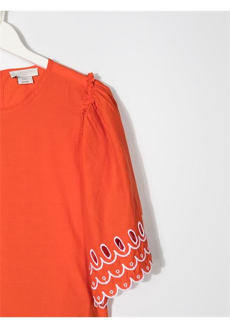 Top arancione STELLA Mc.CARTNEY KIDS | MAGLIE | 602830TSQK796561
