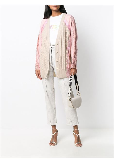 Cardigan rosa/beige STELLA Mc.CARTNEY | CARDIGAN | 602885S22379014