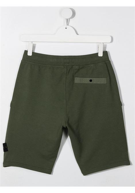 Shorts verdi STONE ISLAND KIDS | BERMUDA | MO741661442TV0059