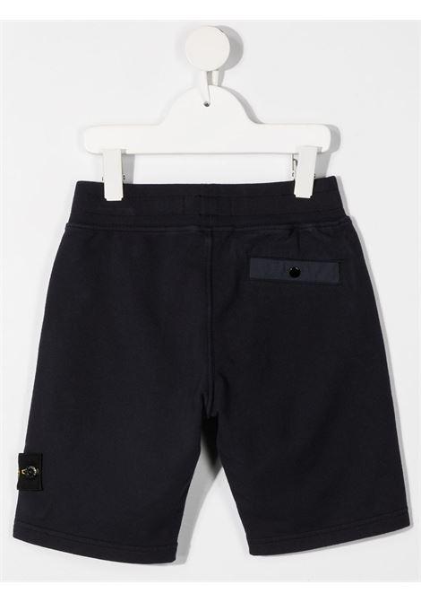 Shorts neri STONE ISLAND KIDS | BERMUDA | MO741661442V0059