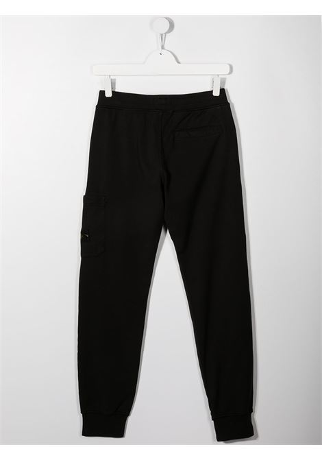 Pantalone nero STONE ISLAND KIDS | PANTALONI | MO741661540TV0029