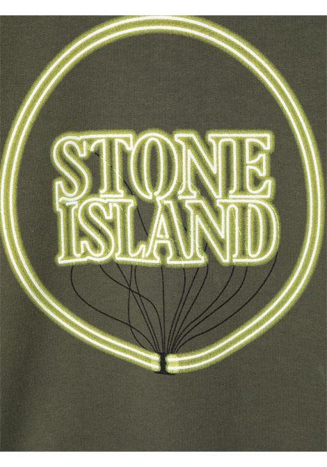 Felpa STONE ISLAND KIDS | FELPE | MO741662340TV0059