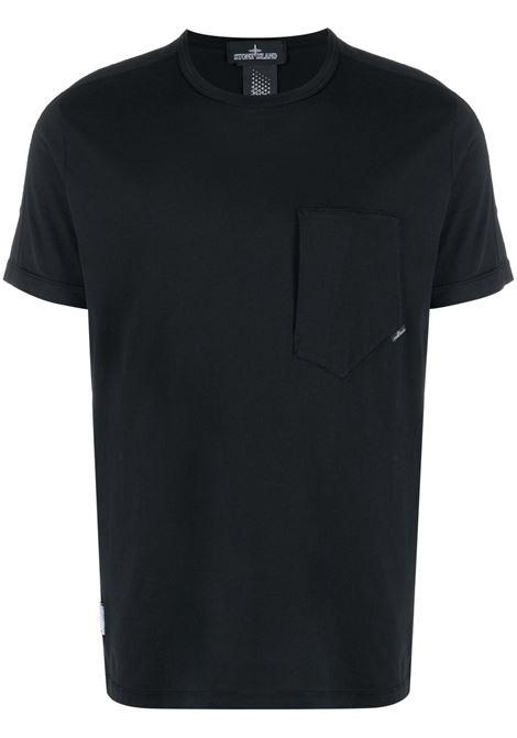 T-shirt nera STONE ISLAND SHADOW | T-SHIRT | MO741920610V0029