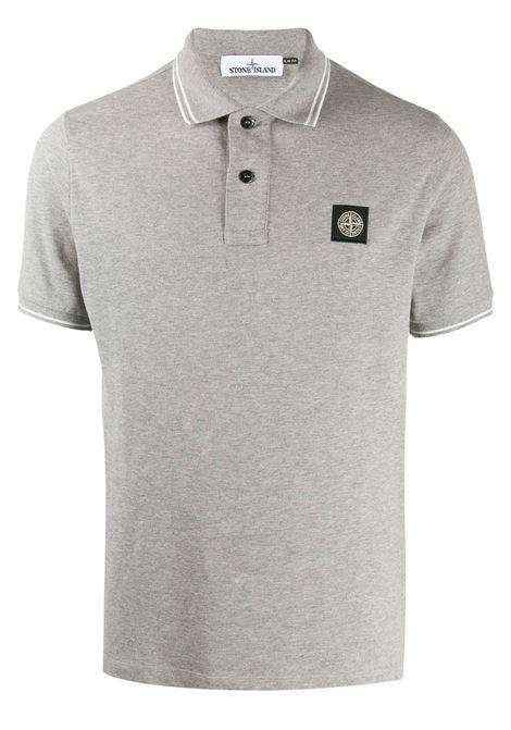 Grey Polo shirt STONE ISLAND | POLO | MO101522S18V0M64